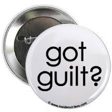 Feeling guilty about feeling guilty