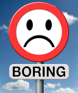 "The joy of a ""boring"" day"