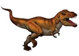Opposite of a T. rex