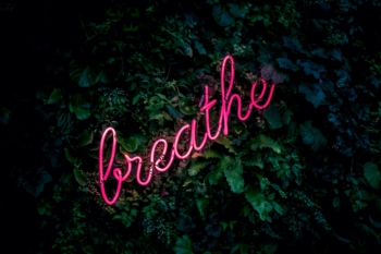 Just breathe. Just be.
