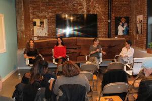 LIsa Kohn at Author Panel