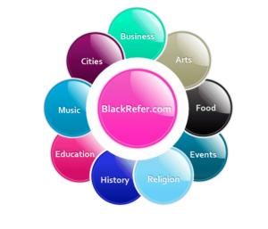 Black Refer Logo