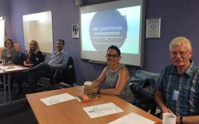 I spoke at a workshop on extremist groups last week