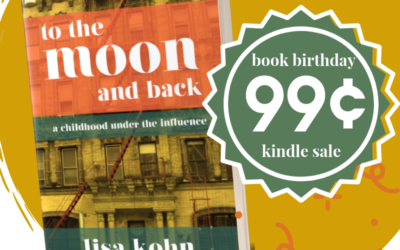 It's a Happy Birthday (and to the moon and back is on sale) – celebrate with me and, if you'd like to, help me spread the word!!